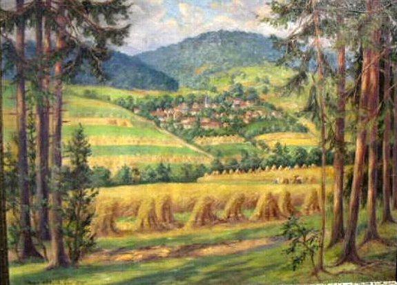 Ernte bei Saalborn