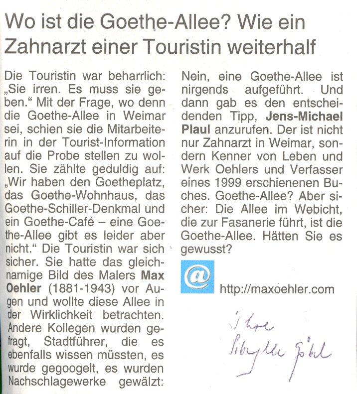 Goethe- Allee