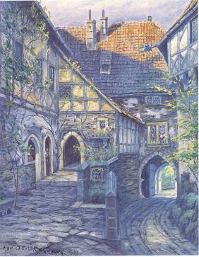 Wartburg Innenhof